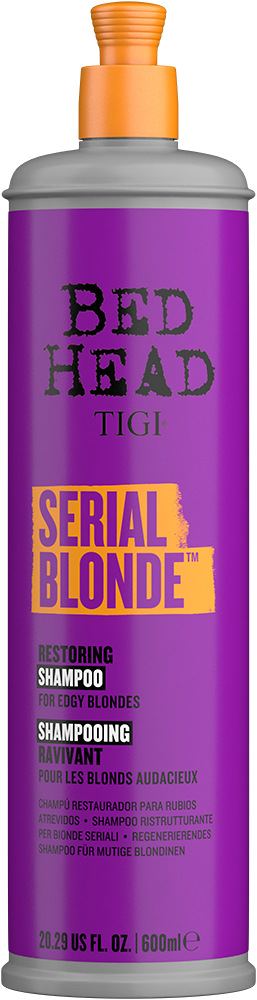 Serial Blonde<sup>TM</sup> Shampoo for Damaged Blonde Hair