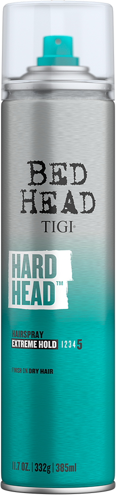 Hard Head<sup>TM</sup> Hairspray for Extra Strong Hold