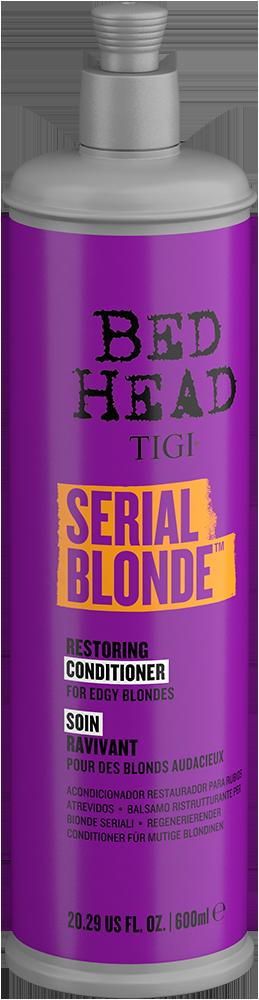 Serial Blonde Purple Toning Shampoo Side