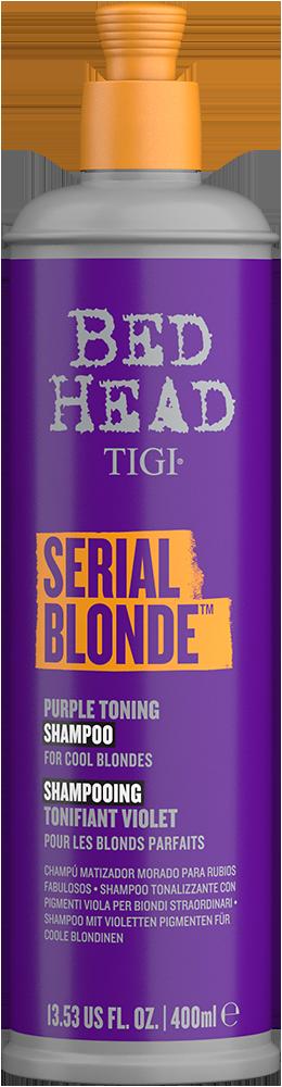 Serial Blonde Purple Toning Shampoo Front