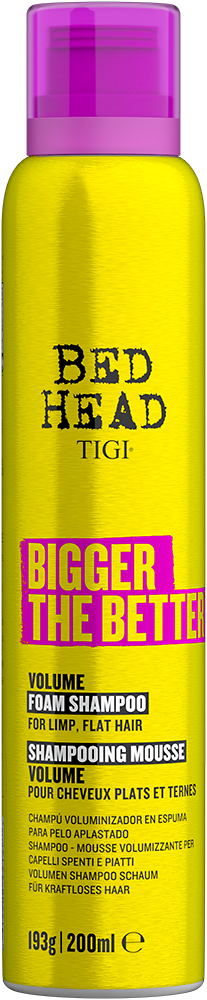 Bigger The Better<sup>TM</sup> Volume Foam Shampoo for Fine Hair