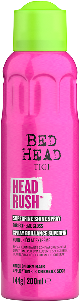 Headrush<sup>TM</sup> Glanzspray für extreme Leuchtkraft