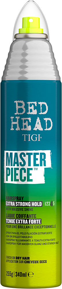 Masterpiece<sup>TM</sup> Shiny Hairspray with Strong Hold